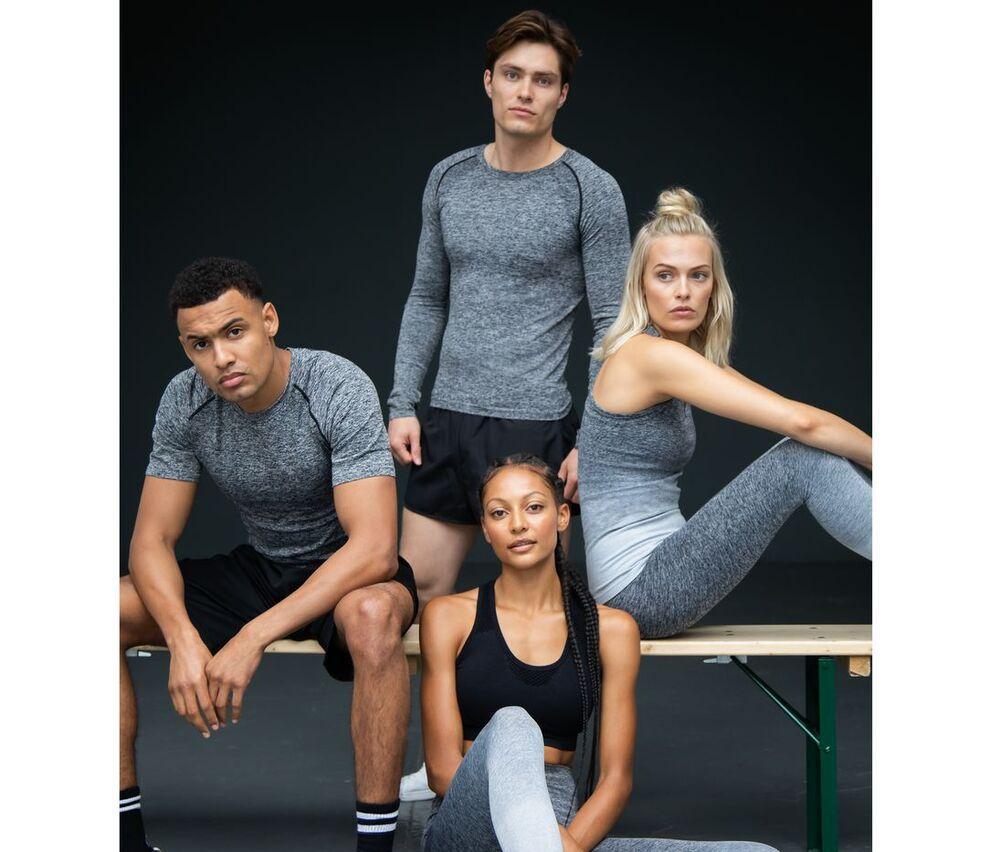 TOMBO TL310 - T-shirt manches courtes sans couture homme