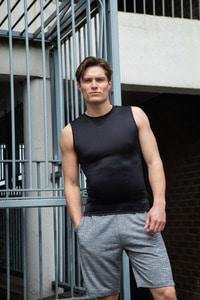 Tombo TL505 -  Camiseta sin mangas para hombre TL505