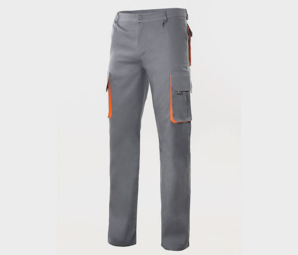 VELILLA V3004 - TWO-TONE MULTI-POCKET PANTS