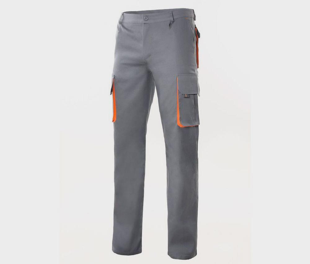 VELILLA V3004 - TWO-TONE MULTI-POCKET PANTS