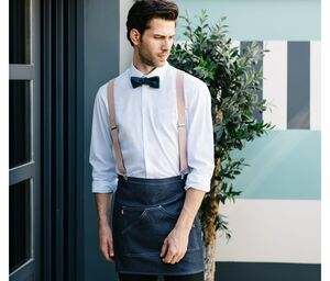 VELILLA V4206 - SHORT DENIM APRON