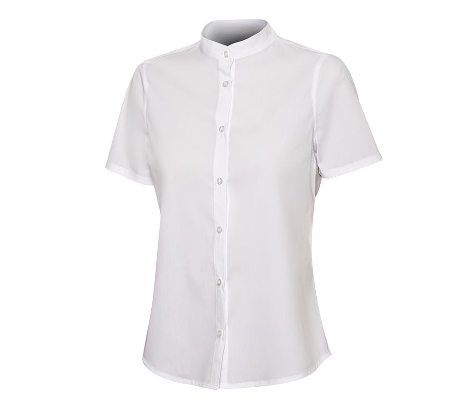 VELILLA V5014S - SHORT-SLEEVED SHIRT WOMAN MAO COLLAR