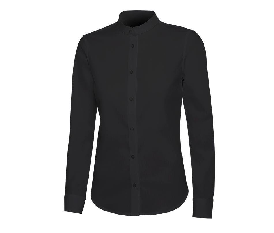 VELILLA V5015S - WOMEN'S SHIRT WITH MAO COLLAR
