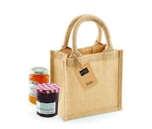 Westford mill WM411 - Small burlap gift bag