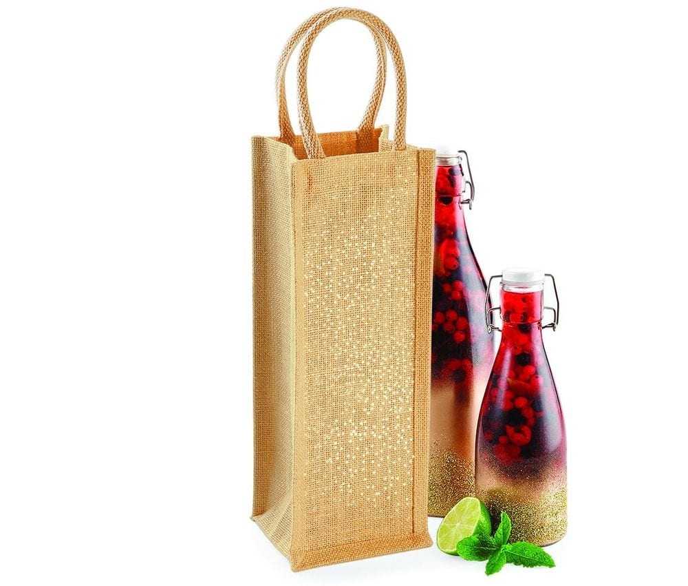 Westford mill WM433 - Sparkling bottle bag