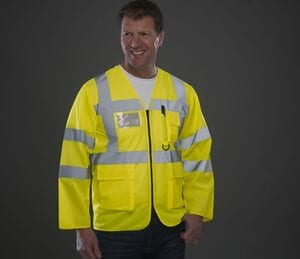 Yoko YK800 - Long sleeve multi-pocket safety jacket