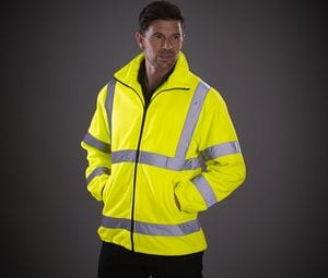 Yoko YKK08 - Thick high-visibility fleece jacket