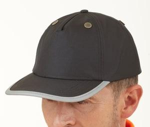 YOKO YKTFC1 - Casquette casque haute visibilité