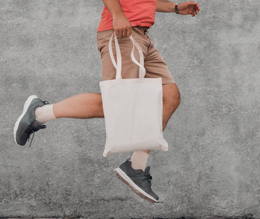 NEWGEN NG140 - Recycled cotton shopping bag