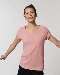 Stanley/Stella STTW112 - The womens rolled sleeve slub t-shirt