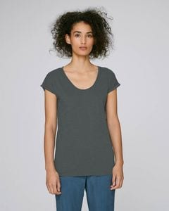 Stanley/Stella STTW145 - The womens v-neck raw edge t-shirt