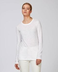 Stanley/Stella STTW025 - The womens long sleeve slub t-shirt
