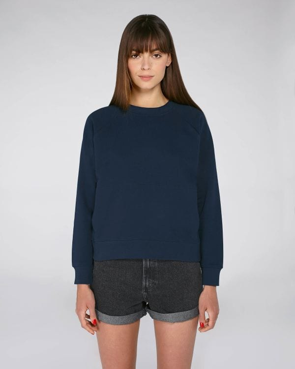 StanleyStella STSW131 Damen Sweatshirt mit Stehkragen