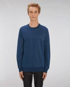 Stanley/Stella STSM568 - The mens denim crew neck sweatshirt