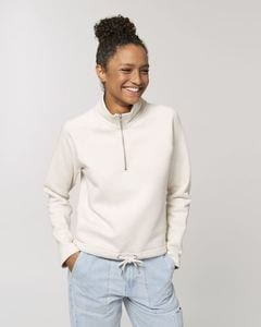 Stanley/Stella STSW126 - The womens half zip sweatshirt