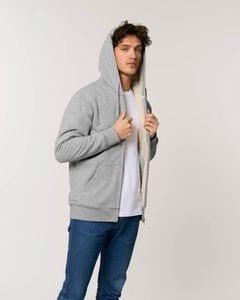 Stanley/Stella STSU715 - The unisex sherpa lined zip-thru hoodie sweatshirt