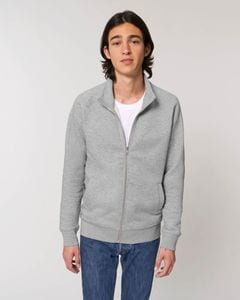 Stanley/Stella STSM612 - The mens high collar zip-thru sweatshirt