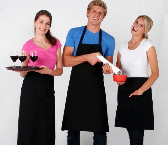 Ramo AP403B - Full-bib Apron - 100% cotton canvas apron