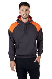 Ramo F303HP - Mens Shoulder Contrast Panel Hoodie