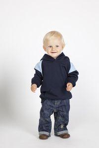 Ramo F335PP - Kids Shoulder  Contrast Panel Hoodies