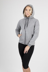 Ramo F360UN - LADIES 320gsm Soft cotton/bonded polar fleece Hoodie