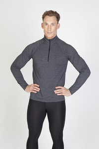 Ramo F389HZ - Mens Greatness Half Zip Mock Neck