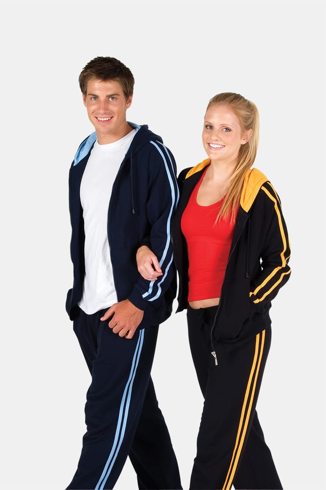 Ramo F600UN - Ladies/Junior stripe sleeves Hoodies