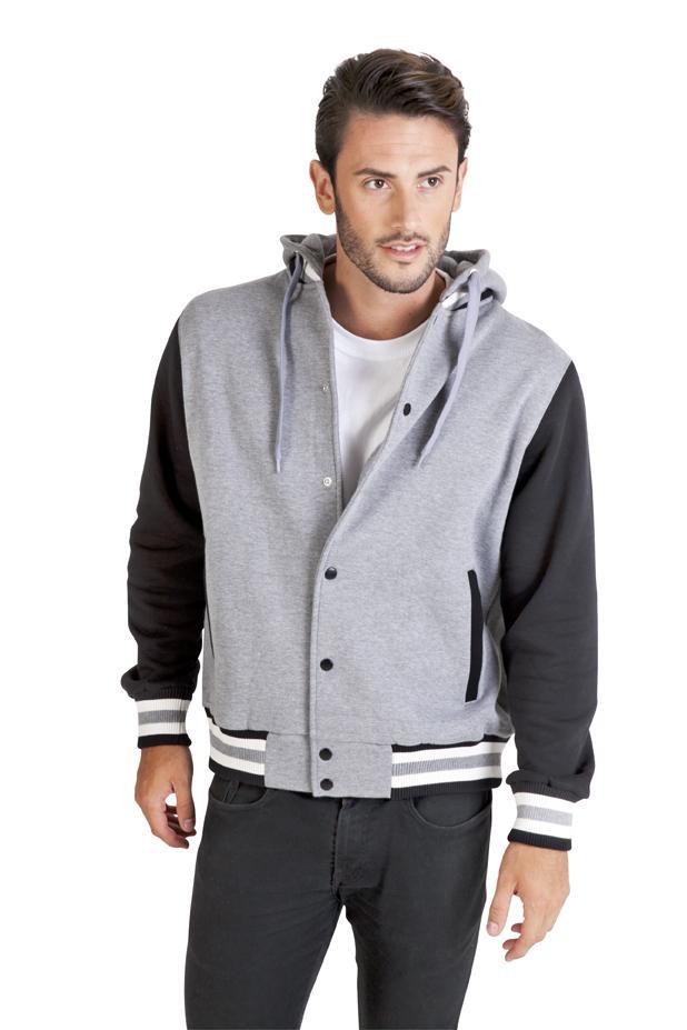 Ramo F907HB - Men's Varsity Jacket & Hood