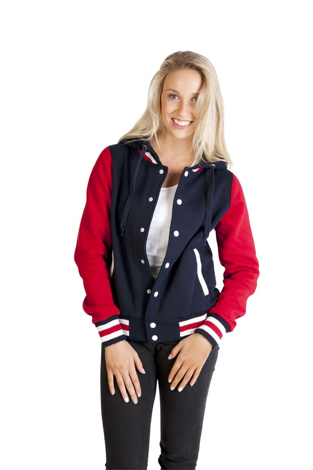 Ramo FB97UN - Ladies Varsity Jacket & Hood
