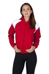 Ramo FZ33UN - Ladies/Juniors Shoulder Contrast  ZIP Hoodie
