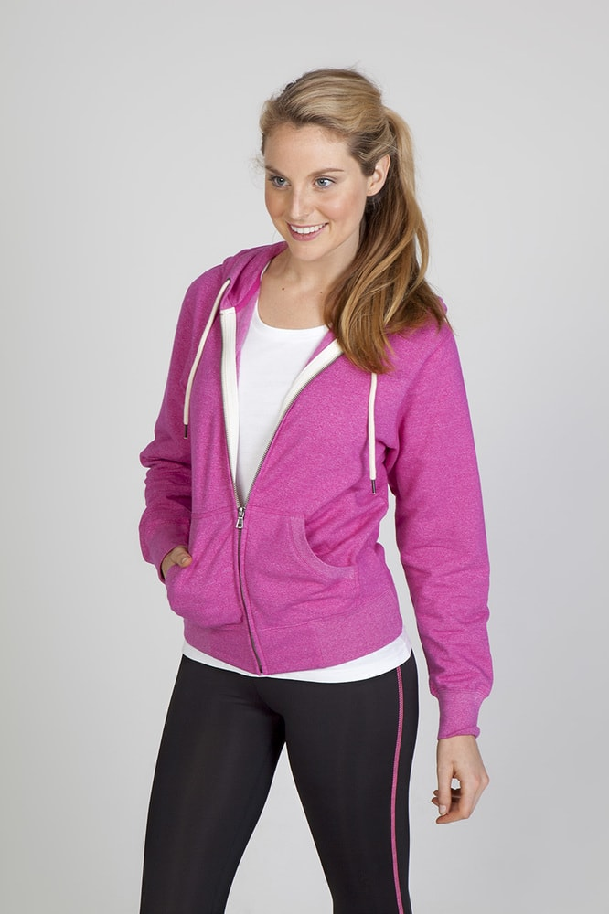 Ramo FZ75UN - Ladies/Junior Greatness Heather Zip Hoodie
