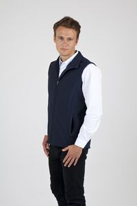 Ramo J482VS - Mens Soft Shell VEST - TEMPEST Range