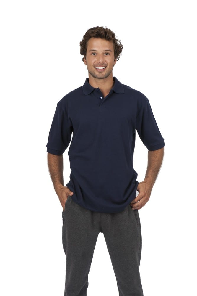 Ramo P777HS - Mens 100% Cotton Pique Knit Polo