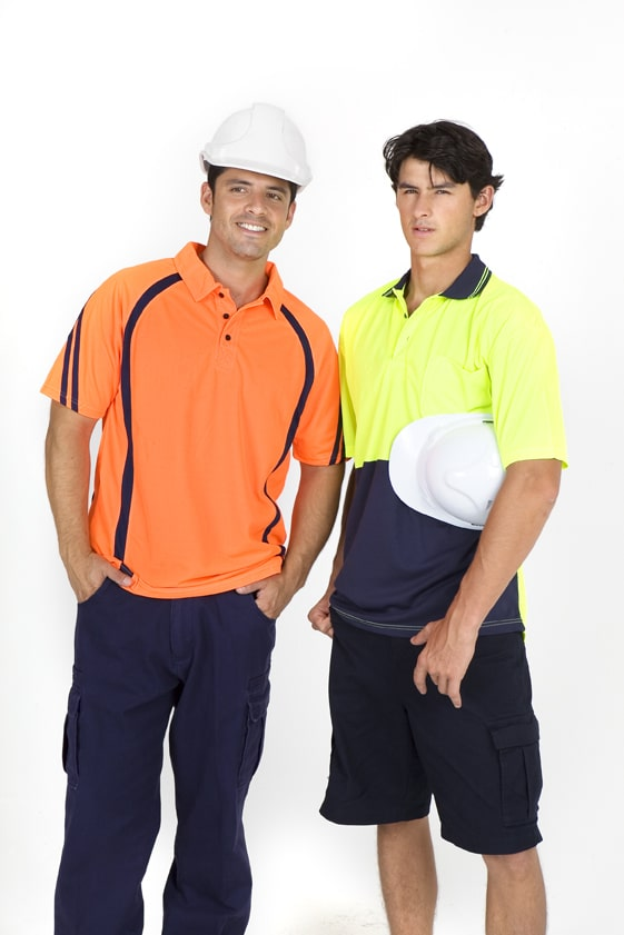 Ramo PS101L - Hi Vis Long Sleeve Polo