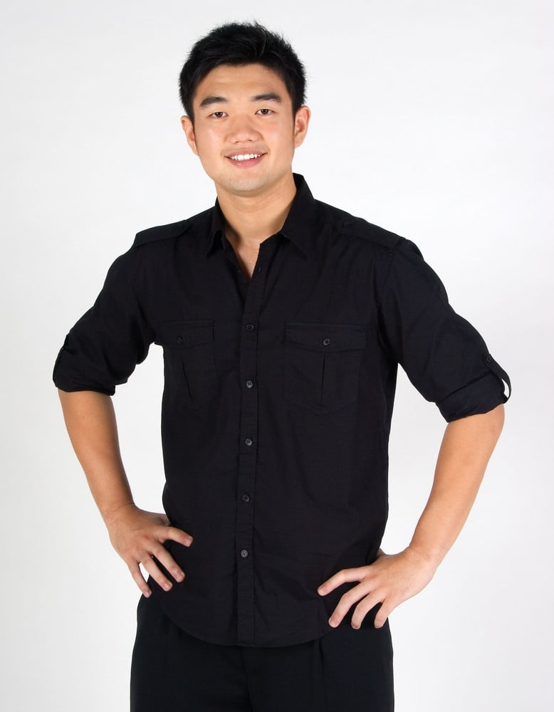 Ramo S001ML - Mens Military Long Sleeve Shirts