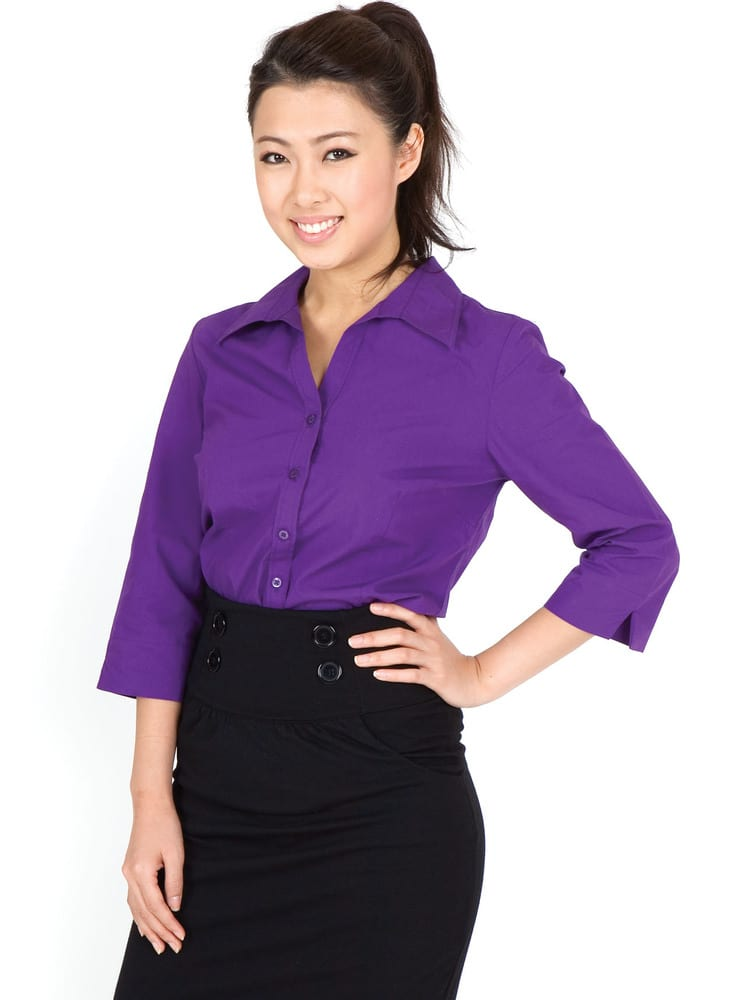 Ramo S004FQ - Ladies 3/4 Sleeve Shirts