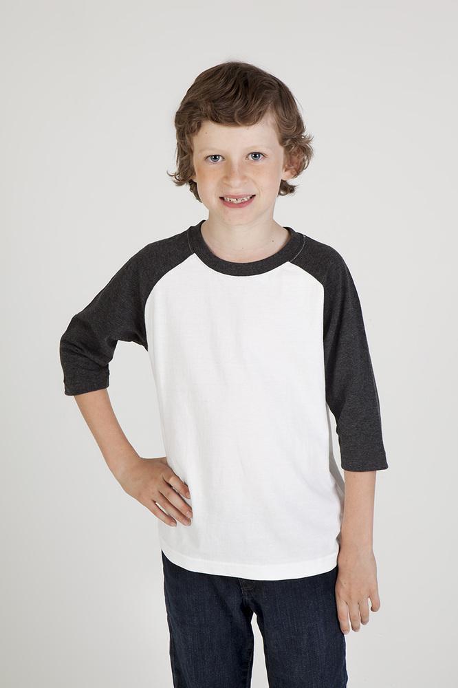 Ramo T143RG - Kids 3/4 Raglan Sleeve T-shirt