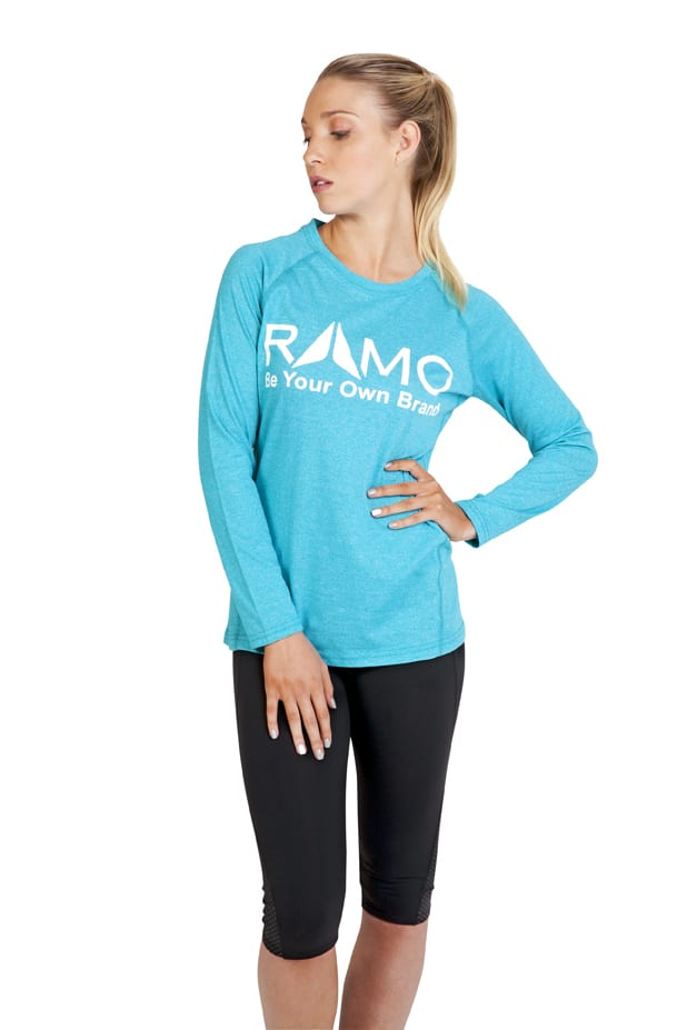 Ramo T223LD - Ladies Greatness Heather Long Sleeve