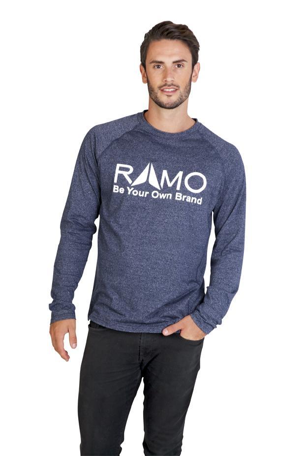 Ramo T223LS - Mens Greatness Heather Long Sleeve
