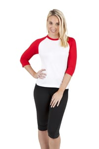Ramo T231RL - Ladies 3/4 Sleeve Raglan Tees