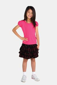 Ramo T301GL - Girls Short Puff Sleeve Tee