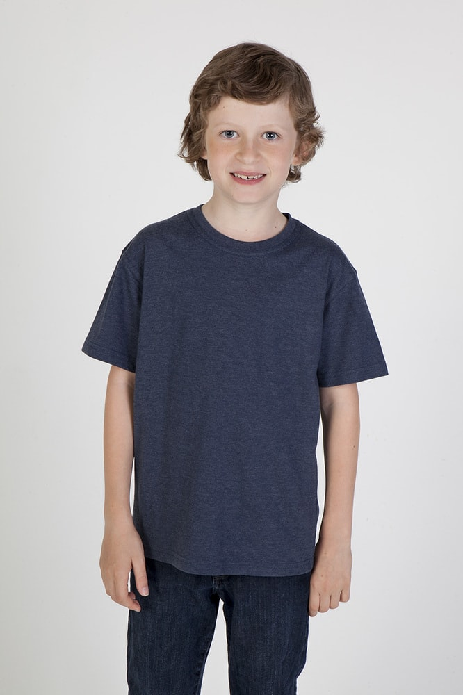 Ramo T306KS - Kids Marl Crew Neck T-shirt