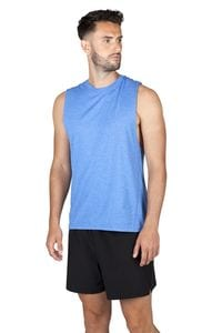 Ramo T403MS - Mens Heather SLEEVELESS Tee - Greatness Range