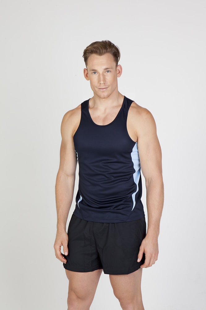 Ramo T448SG - Mens Accelerator Cool Dry Singlet