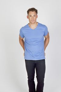 Ramo T903TV - Mens Marl V-neck T-shirt