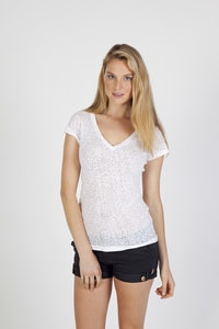 Ramo T931LD - Ladies Burnout V-neck T-shirt
