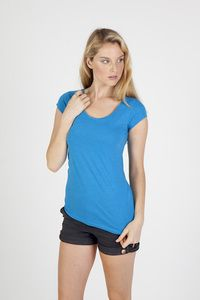 Ramo T938LD - Ladies Marl Scoop Neck T-shirt