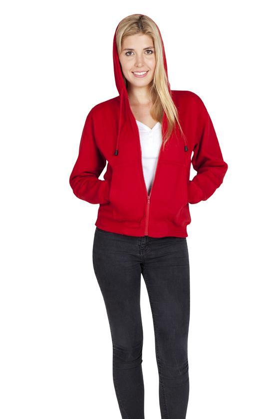 Ramo TZ66UN - Ladies/Juniors Zipper Hoodies with Pocket
