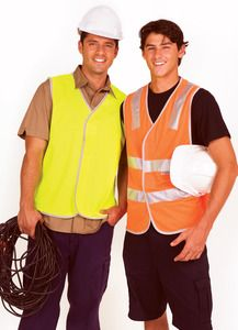 Ramo V001HP - 100% Polyeter Vest with 3M reflective tape