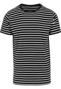 Build Your Brand BY073 - Stripe Tee